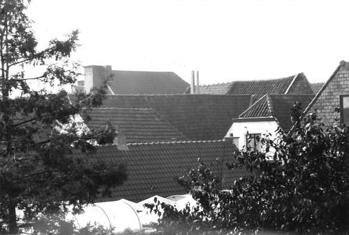 Oudenaarde Markt 20-21 achterbouwen daken