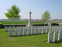 Britse militaire begraafplaats Croonaert Chapel Cemetery