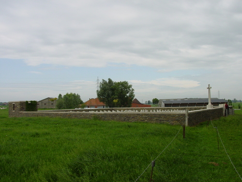 Wijtschate: Torreken Farm Cemetery: ligging