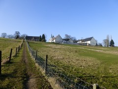 De abdij van Kolen en de Kolenberg