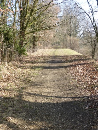 Tongeren, Tongeren, voetpad over voormalige spoorweg.