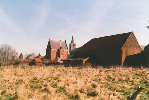 Horebeke Kerkplein dorp