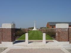 Britse militaire begraafplaats Derry House Cemetery No. 2