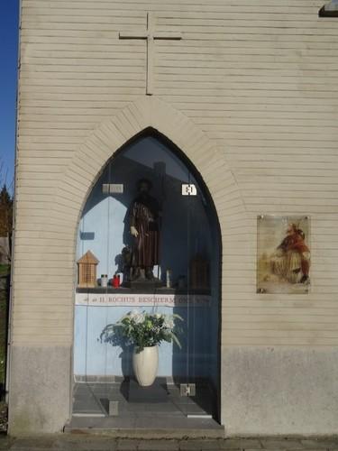 Wortegem-Petegem Oudenaardseweg 38 Sint-Rochuskapel