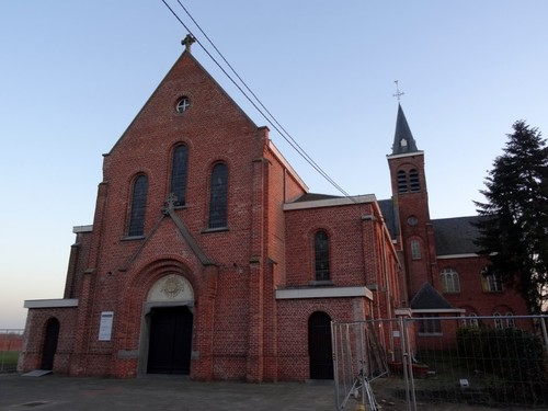 Kruishoutem Passionistenstraat 13-15 Sint-Gabriëlkerk