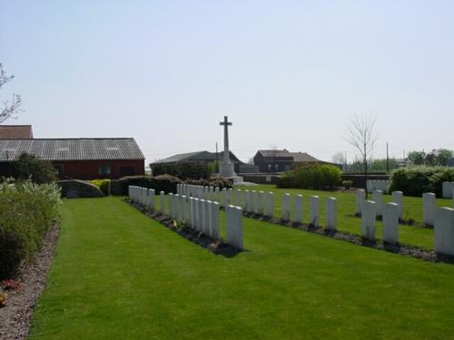 Wijtschate: Derry House Cemetery: perk I