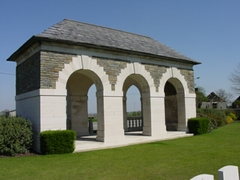 Britse militaire begraafplaats Oosttaverne Wood Cemetery