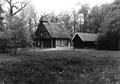 Brasschaat Gemeentepark Boswachtershuis