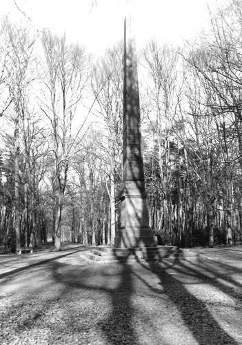 Brasschaat Gemeentepark Obelisk