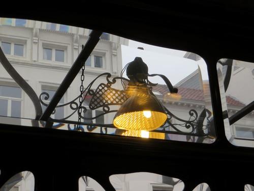 Antwerpen St.Jorispoort 26 winkel etalageverlichting