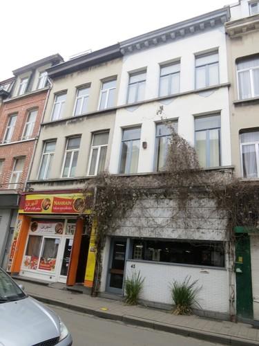 Antwerpen Diepestraat 45 gevel