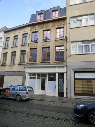 Antwerpen Minderbroedersrui 7 gevel