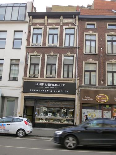 Antwerpen Vondelstraat 4 gevel