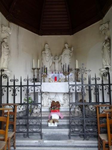 Zulte Veerstraat zonder nummer Interieur van de Heilige Maria en Heilige Jozefkapel