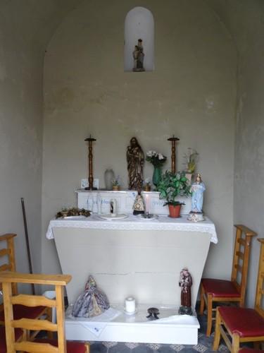 Zulte Kerkstraat zonder nummer Interieur van de kapel