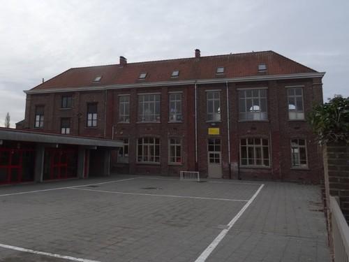 Zulte Dorpsstraat 42 Noordzijde van de gemeenteschool