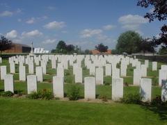 Britse militaire begraafplaats Pond Farm Cemetery