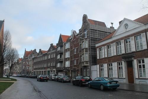 Sint-Bartholomeusstraat 1 oplopend straatbeeld