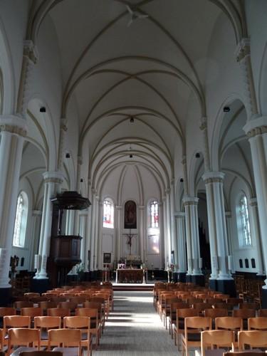 Kluisbergen Grote Herreweg zonder nummer Interieur van de Sint-Corneliuskerk