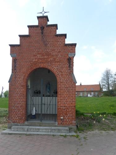 Zonnebeke Wervikstraat 146 148 kapel
