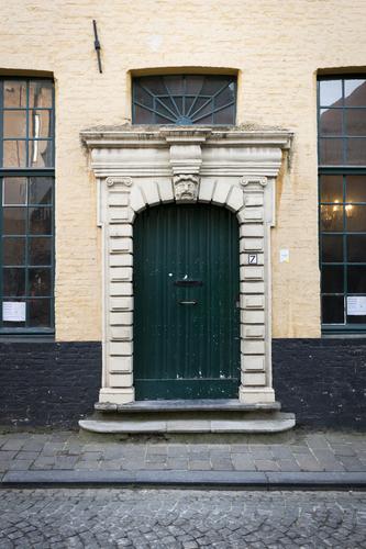 Brugge Naaldenstraat 7  Deur