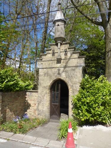 Zonnebeke Menenstraat 91 kapel