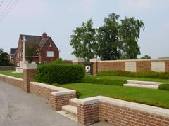 Britse militaire begraafplaats Westoutre British Cemetery