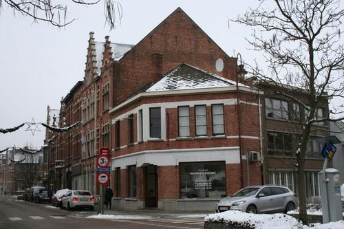 Aarschot Bogaardenstraat straatbeeld pare zijde