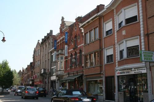 Aarschot Bogaardenstraat straatbeeld onpare zijde