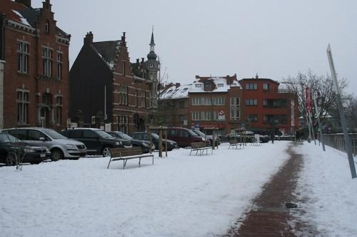 Aarschot Amerstraat  straatbeeld