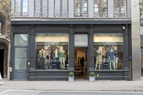 Antwerpen Schoenmarkt 6 winkelpui