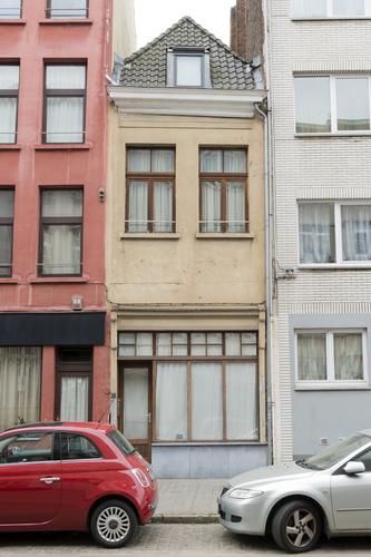 Antwerpen Minderbroedersrui 16 voorgevel