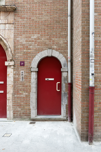 Antwerpen Korte Riddersstraat 21A-21B  deuromlijsting