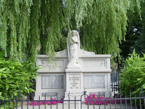 Westouter: gedenkteken burgers & militairen