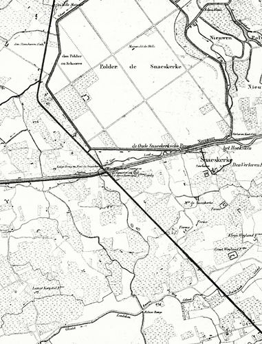 Gistel Snaaskerke kaart