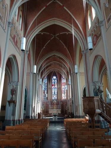 Avelgem Brugstraat zonder nummer Interieur van de Sint-Amanduskerk