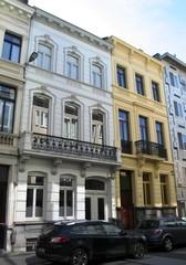 Twee burgerhuizen in neoclassicistische stijl
