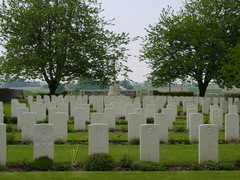 Britse militaire begraafplaats Kandahar Farm Cemetery