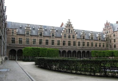 Antwerpen Prinsstraat 13 binnentuin