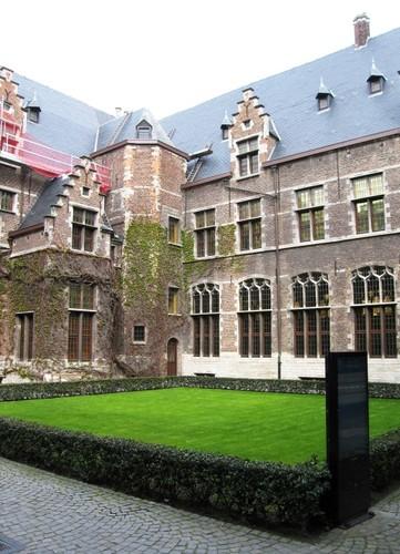 Antwerpen Prinsstraat 13 westelijke binnenplaats