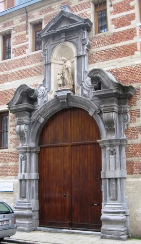 Antwerpen Sint-Rochusstraat 41 kloosterpoort
