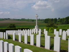 Britse militaire begraafplaats Westhof Farm Cemetery