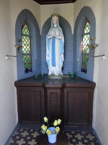 Anzegem Kapellestraat 44 Interieur van de kapel