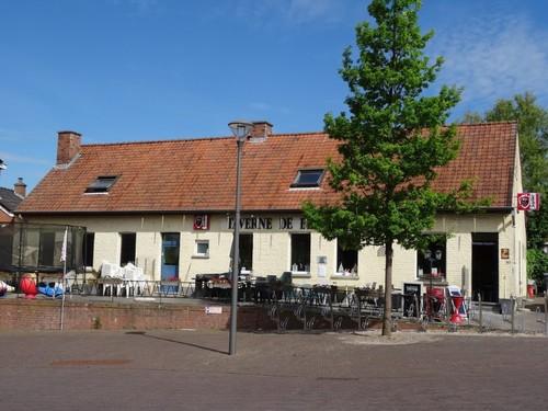 Anzegem Gijzelbrechtegemstraat Herberg op nummer 57