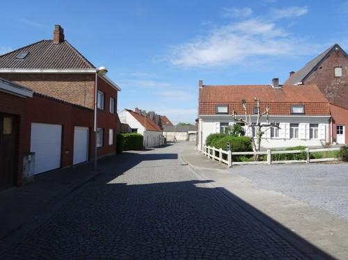 Anzegem Juliaan Claerhoutstraat richting zuidwest