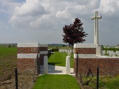 Britse militaire begraafplaats Maple Leaf Cemetery
