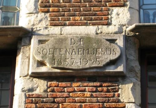 Antwerpen Korte Nieuwstraat 11A gevelsteen