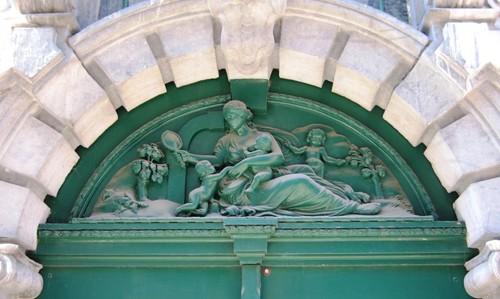 Antwerpen Wisselstraat 8 waaier poort