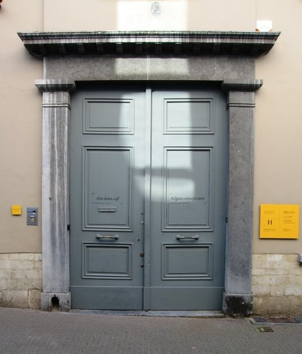 Antwerpen Hofstraat 24 poort