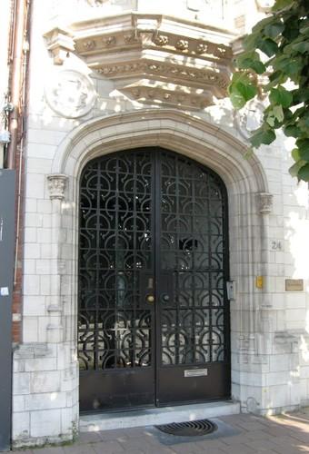 Antwerpen Jordaenskaai 24 portaal